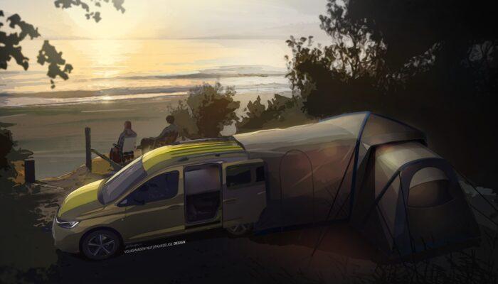 Volkswagen będzie produkował minikampera na bazie Caddy. Ciekawa opcja dla rodzin