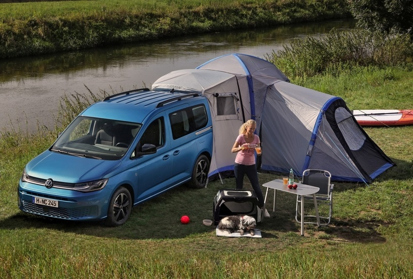 Volkswagen Caddy California. Premiera nowego kampera.