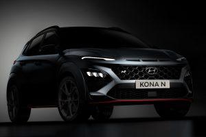 Nowy Hyundai Kona N z ośmiobiegową dwusprzęgłową skrzynią biegów