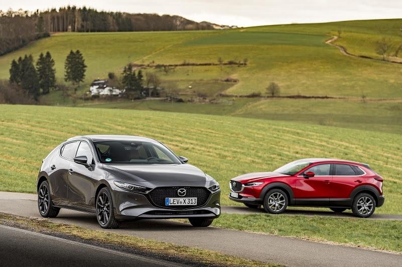 Mazda: udoskonalony silnik e-Skyactiv X trafił do oferty sprzedażowej na terenie Polski