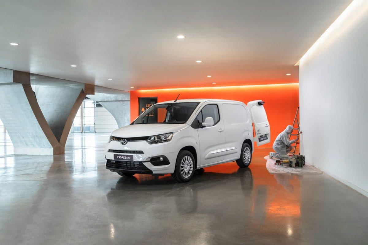 Toyota PROACE CITY urosła do miana lidera swojego segmentu
