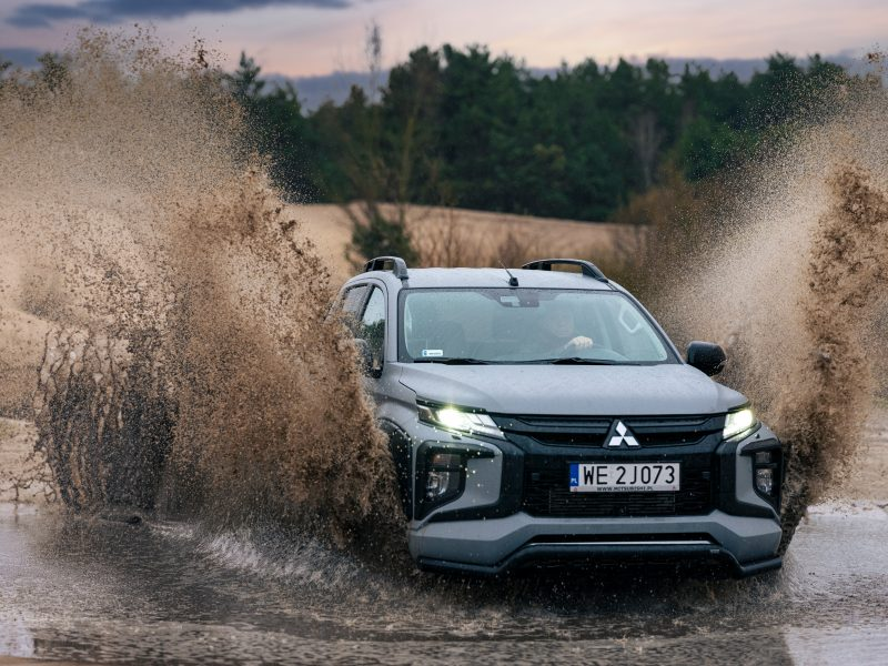 Mitsubishi L200 – czyli najszybszy pickup swojej klasy wagowej
